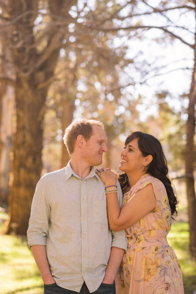 Springtime Big Bear Engagement Session with Simply Perfect Images