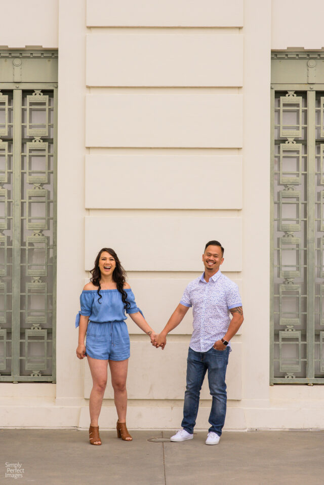 Los Angeles Griffith Park Engagement Session with Simply Perfect Images