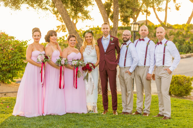 Callaway Winery Temecula, California Wedding bride groom by Simply Perfect Images
