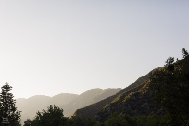 Outdoors wedding Hidden Acres Lytle Creek bride groom Simply Perfect Images