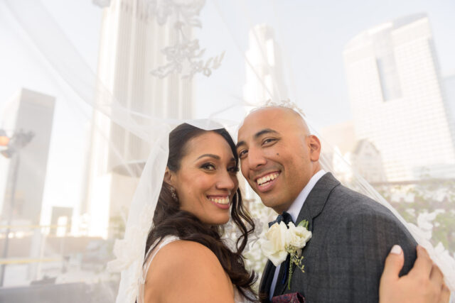 Los Angeles wedding Oviatt Penthouse bride groom by Simply Perfect Images